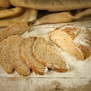 pane germe di grano sobon al grano tenero integrale macinato a pietra e 100% lievito madre