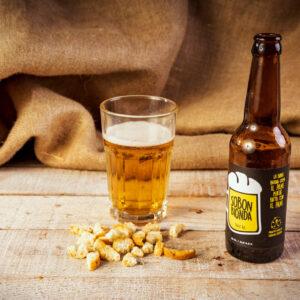 Sobon birra Bionda 0.33l, nata dal recupero del pane biologico